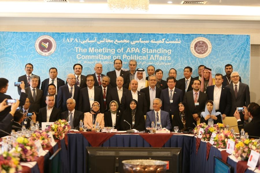 The Meeting of APA Standing Committee on Political Affairs 2019