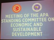 Meeting Of The Apa Standing Committee On Economic And Sustainable Development - 1 December 2018