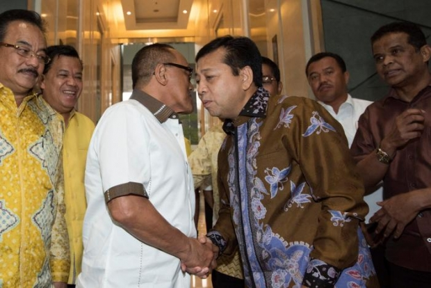 Indonesia's parliament reappoints scandal-hit speaker