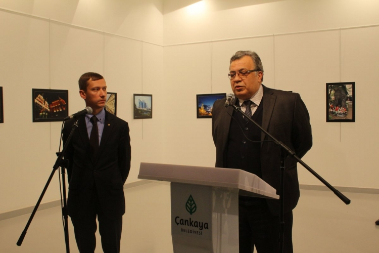 Russian Ambassador Karlov shot in Ankara