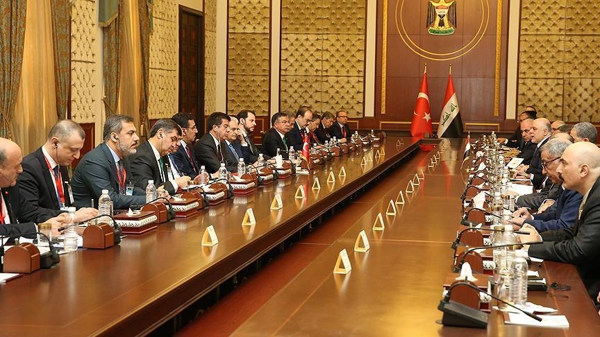 Turkey, Iraq cooperation council vows to work for peace