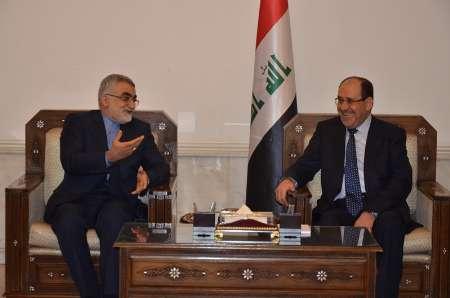 Iranian MP, Iraqi VP discuss regional events