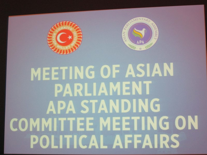 Standing Committee on Political Affairs and Working Group on Asian Parliament  30 November 2018