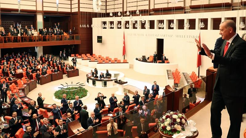 Turkish MPs sworn in; Yildirim nominated as parliament speaker