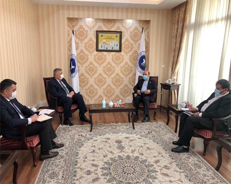 Uzbekistan Ambassador to Tehran met with the APA Secretary General